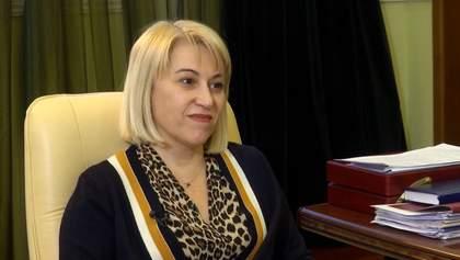 Глава Минразвития общин Бабак объяснила, кому выгодно дискредитировать работу министерства