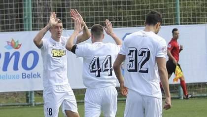 Клуб УПЛ победил в первом спарринге на сборах благодаря голу новичка