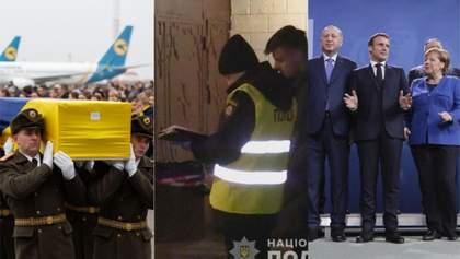 Головні новини 19 січня: вшанування жертв катастрофи МАУ, вбивство ветерана АТО, саміт у Берліні