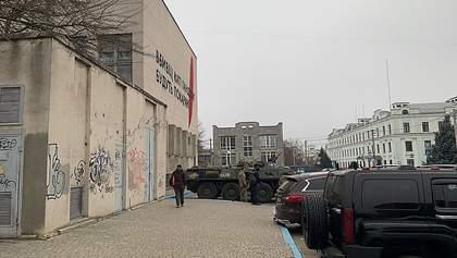 Обыски по делу Гандзюк в Херсоне: СБУ привлекла БТР и спецназ – фото
