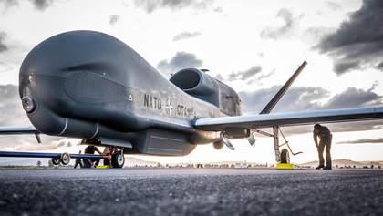 НАТО отримав новітній безпілотник, який зможе контролювати Крим: фото