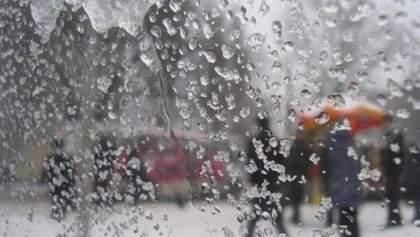 Прогноз погоди на 23 січня: в Україні сніжитиме, але буде тепло