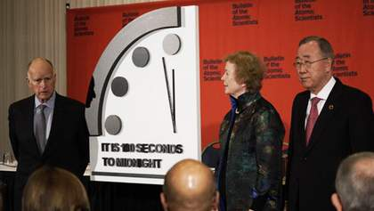 Часы Судного дня остановили за 100 секунд до апокалипсиса: что это означает