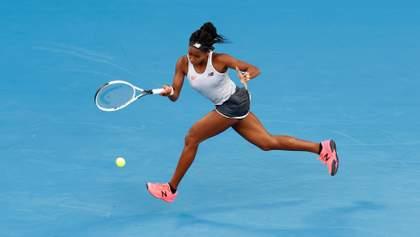 15-летняя американка совершила сенсацию на Australian Open, победив чемпионку Наоми Осаку