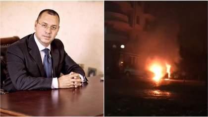 В Ужгороде сожгли автомобиль дипломата Игоря Дира – соцсети