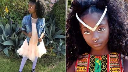 10-річна дівчинка запустила власну лінію одягу для боротьби з расизмом: фото