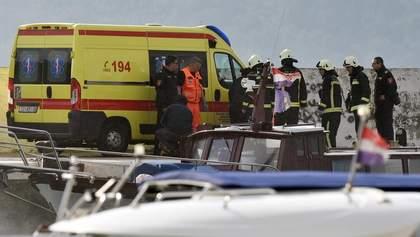 У Хорватії розбився військовий гелікоптер, є загиблі: фото
