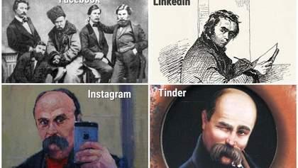 Facebook, Instagram, Tinder: украинские музеи присоединились к забавному флешмобу