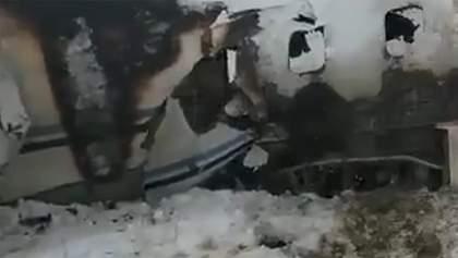 Авіакатастрофа в Афганістані: з'явилося відео палаючого літака