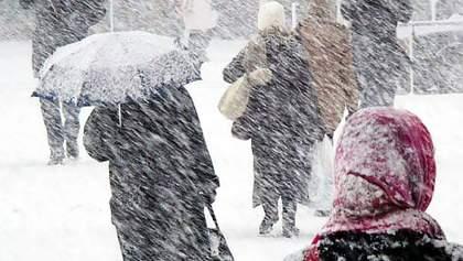 Снег и метели накроют Украину 30 – 31 января: выпадет до 30 сантиметров снега