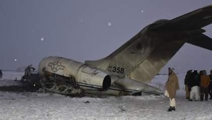 На місці авіакатастрофи в Афганістані знайшли тіла американських військових
