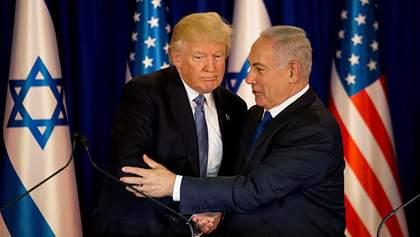 Угода століття: Трамп представив план врегулювання конфлікту між Ізраїлем і Палестиною