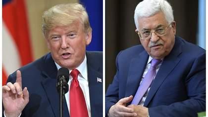 """Палестина категорично відмовилась від """"угоди століття"""" Трампа"""