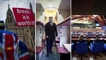 Головні новини 29 січня: розрив Британії та ЄС, звільнення Кравцова і наступ Росії в ПАРЄ