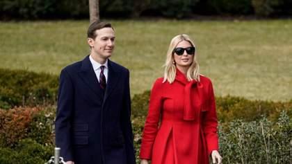 Иванка Трамп примерила брендовое пальто на политическое событие: фото