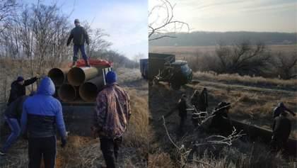 СБУ довелося ловити викрадачів металобрухту: крали труби з молдовської електростанції – фото