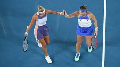 Бабош и Младенович победили на Australian Open в женском парном турнире