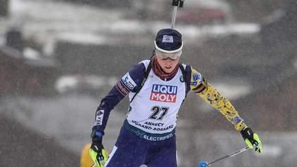 Українка Блашко очолила рейтинг найкращих стрілків світу в біатлоні