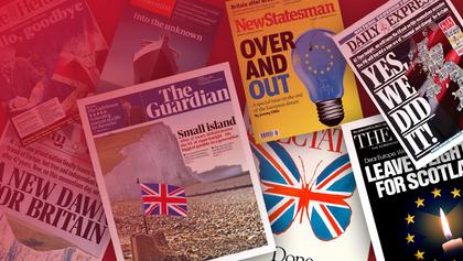 Не до свидания – прощайте: Brexit на обложках британских медиа