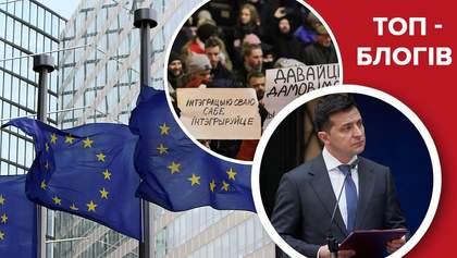 Бомби уповільненої дії Зеленського, білоруси визначились та позитив у курсі на ЄС: блоги тижня