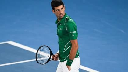 Джокович восьмой раз в карьере выиграл Australian Open