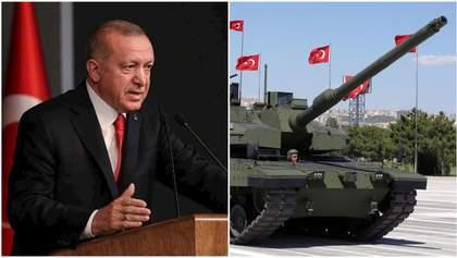 Обострение в Сирии: Эрдоган ответил танками на действия армии Путина