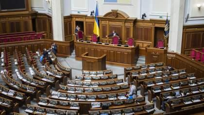 Рада попередньо схвалила зменшення кількості народних депутатів