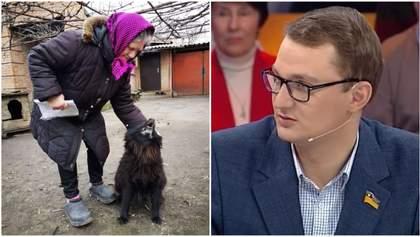Пенсіонерка, якій Брагар радив продати собаку, насправді платить за газ 300 гривень, –ОП