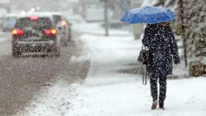 Прогноз погоды на 6 февраля: снег будет идти почти на всей территории Украины