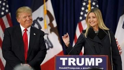Иванка и Дональд Трамп поужинали на борту самолета едой из Макдональдса