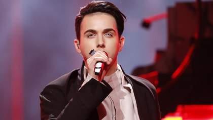Представитель Украины на Евровидении-2018 Melovin выступил в полуфинале Нацотбора: видео