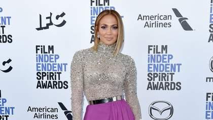 Дженніфер Лопес похизувалася розкішним вбранням: вишукані фото