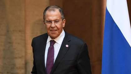 """Лавров заявив, що Росія """"не проти"""" обмінятися послами з Україною"""