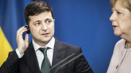 Зеленський поговорив з Меркель: серед тем – розведення на Донбасі та нормандська зустріч