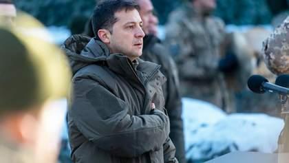 Зеленський відзначив нагородами 44 військових