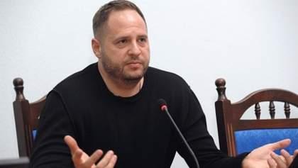 Война на Донбассе и приоритеты в работе ОП: главные тезисы с первого брифинга Ермака