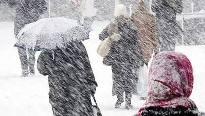 Украину накрыли мощные снегопады: когда утихнет февральская непогода