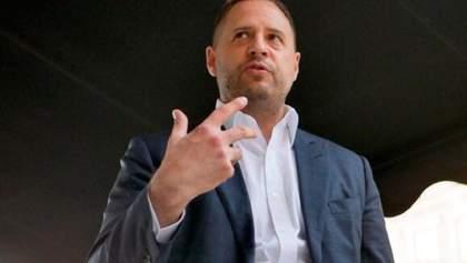 Єрмак назвав умови для проведення виборів на Донбасі