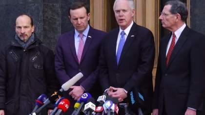 Американские сенаторы заверили Зеленского в двухпартийной поддержке Украины: видео