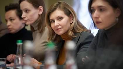 Зеленська влаштувала нараду про здорові умови навчання у школах