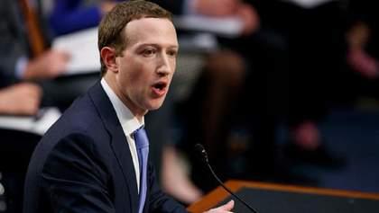 Цукерберг заявил, что поддерживает регулирование вредного контента в сети