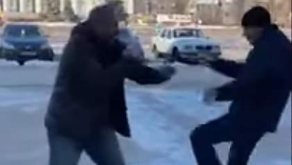 """Помічник нардепа Богуцької побився з """"опоблоківцем"""": поліція відкрила справу – відео"""