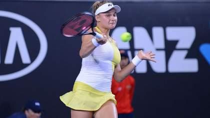 Ястремская вслед за Свитолиной проиграла в первом круге турнира в Дубае