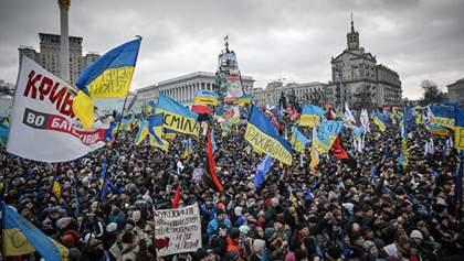 В Киеве прошло шествие памяти к шестой годовщине расстрелов на Майдане: видео