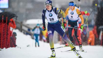 Пидгрушная единственная из украинок выступит в последней гонке чемпионата мира по биатлону