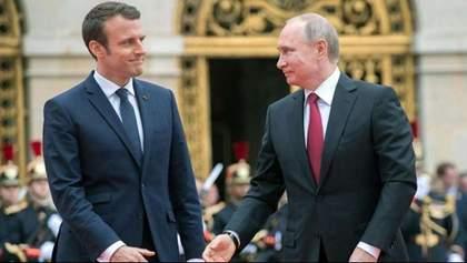 Сближение Макрона с РФ: эксперт объяснил, что это может означать для Украины