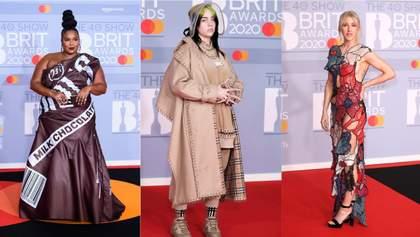 British Awards 2020: якими вбраннями дивували зірки на червоній доріжці