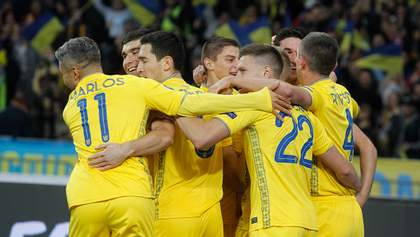 На якому місці збірна України в рейтингу ФІФА 2020