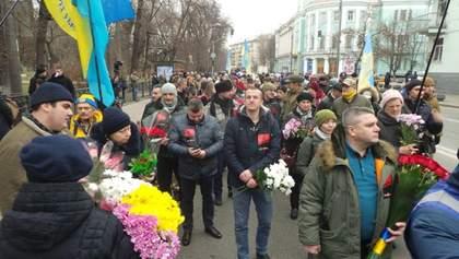 День памяти Небесной Сотни: Шествие Достоинства по Киеву – фото, видео
