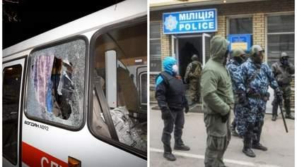 МВС про протести в Нових Санжарах: Дежавю зі Слов'янська, де мітингували під захопленою міліцією